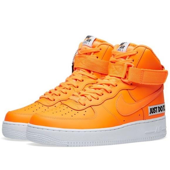 Copy Neon Orange Nike Airforce | Poshmark